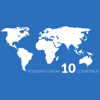 Students from 10 Countries