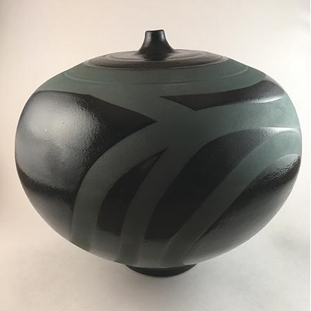 Black Vase by Stephen Phillips