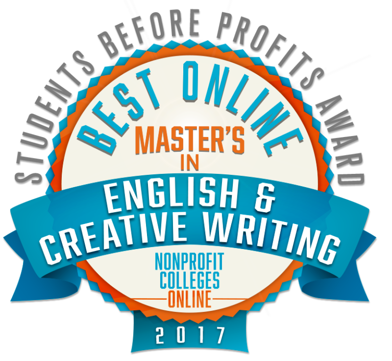 BEST ONLINE MASTERS IN ENGLISH CREATIVE WRITING 2017 768x706