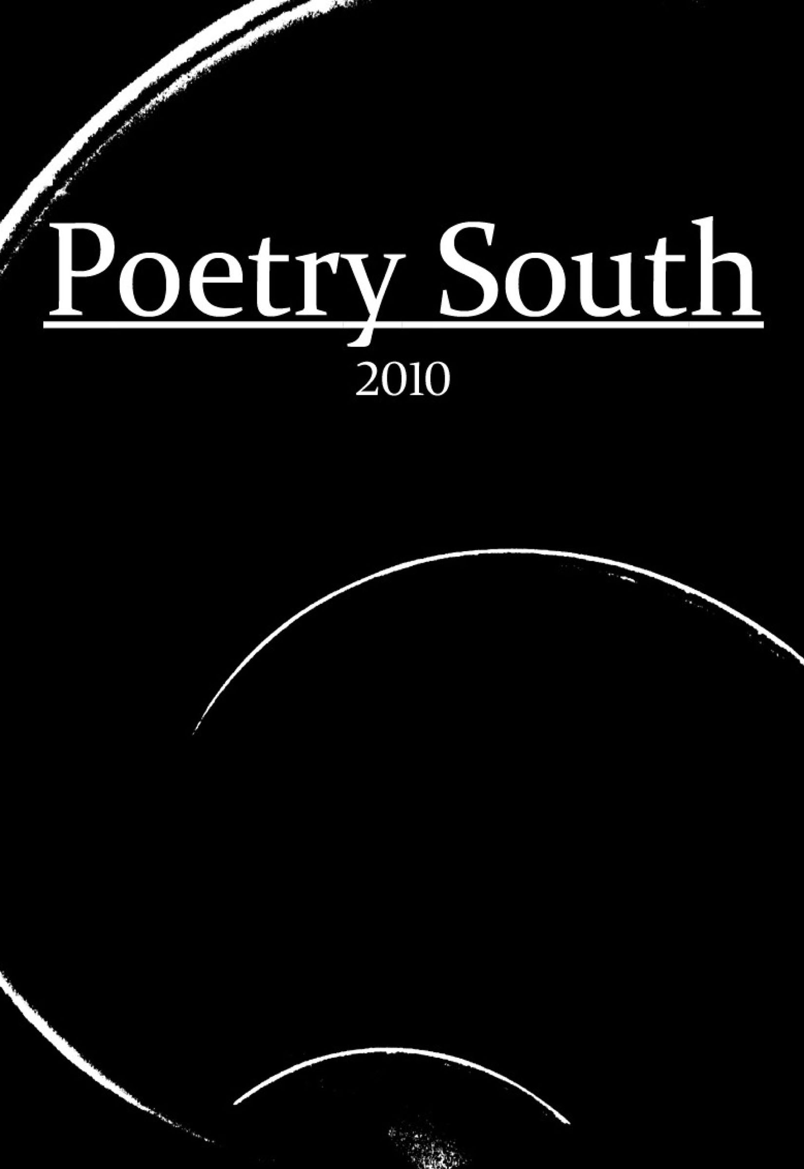 Poetry South 2010 Front Cover