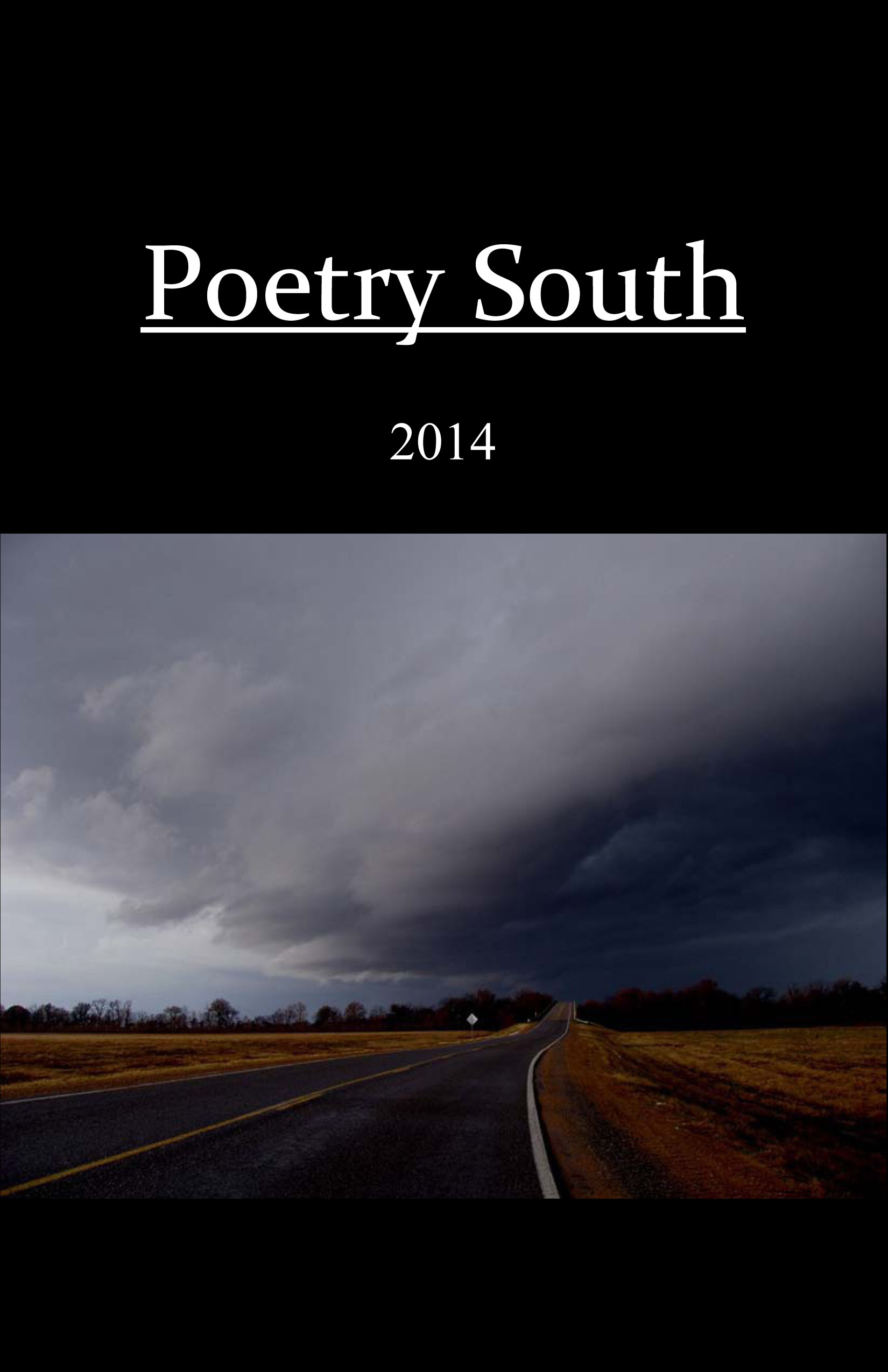 Poetry South 2014 Front Cover