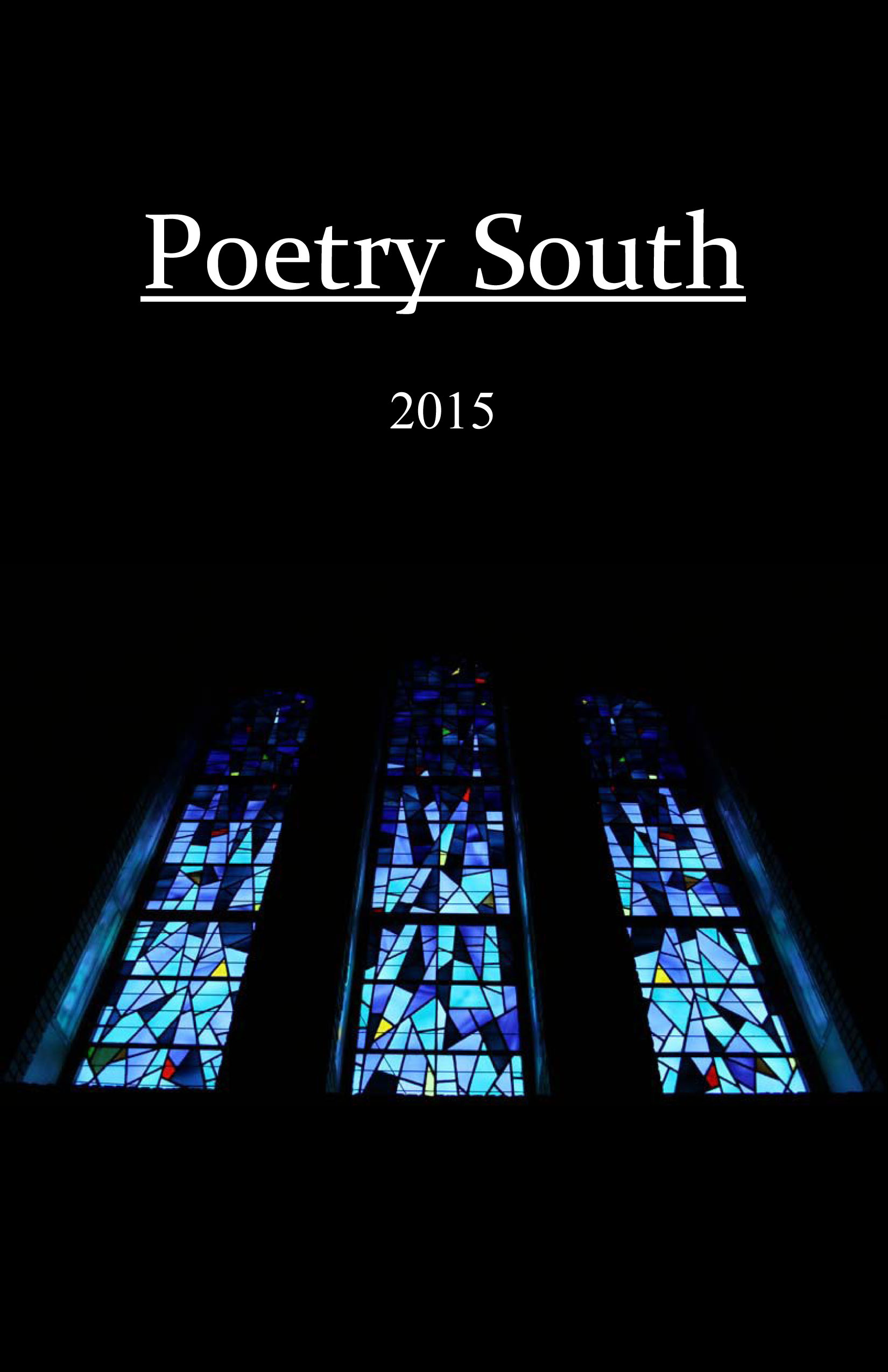 Poetry South 2015 FrontCover