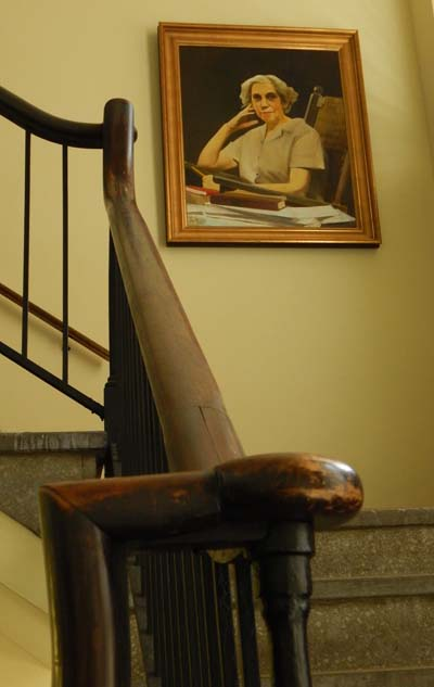 Welty Portrait in Painter Hall