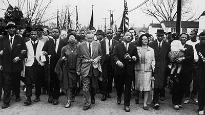 MLK march in Selma