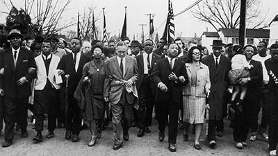 MLK march in Selma