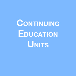 Continuing Education Units