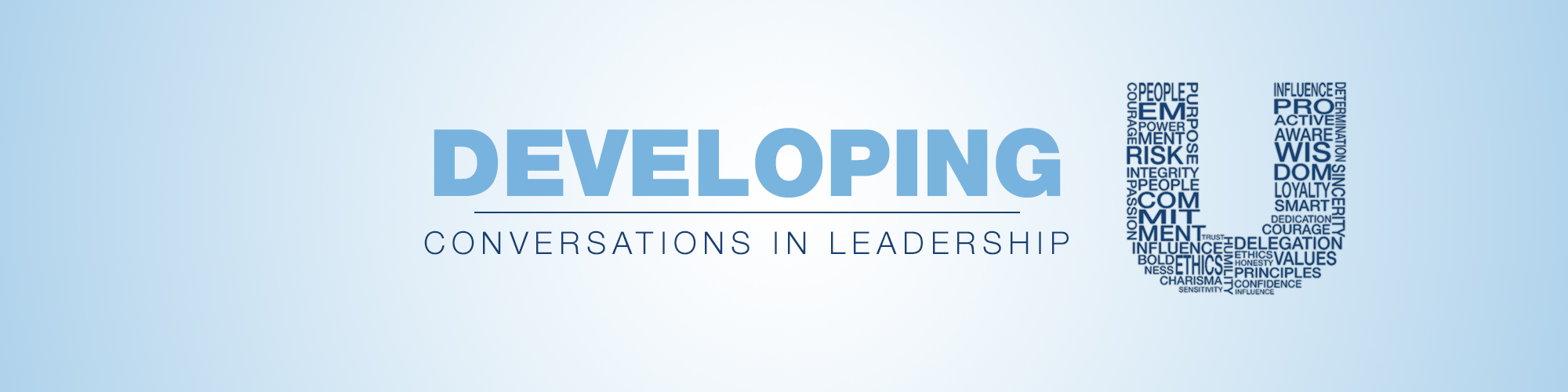 Developing U: Conversations in Leadership