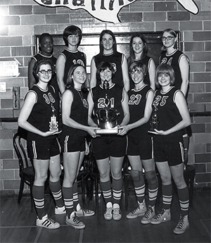 1971 Women's basketball National Championship Team