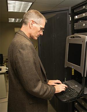 Network Administrator Rodney Godfrey