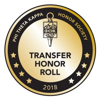 Phi Theta Kappa Transfer Honor Roll Seal