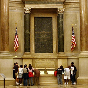 Rotunda of the National Archives - Public Domain Image