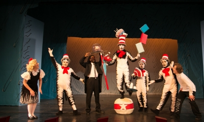 Cat in the Hat production