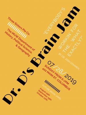 Brain Jam Poster