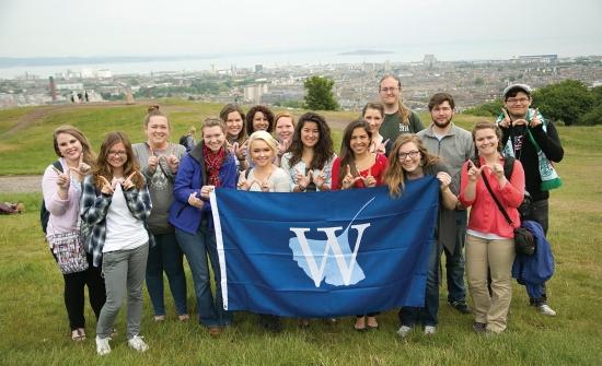 W Students in Scotland