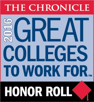 Great Colleges to Work For Honor Roll 2016