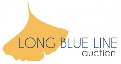 Long Blue Line Auction Logo